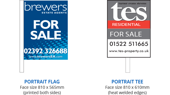 Residential Estate Agent Boards