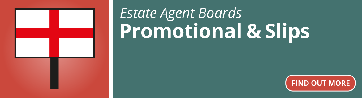 Estate Agent Boards - Promotional & Slips